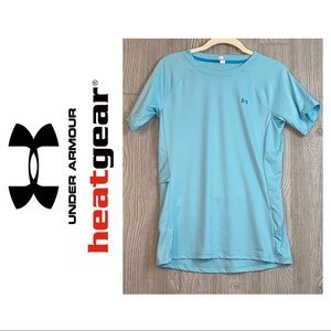 Under Armour Heatgear Fitted Tee with Pocket
